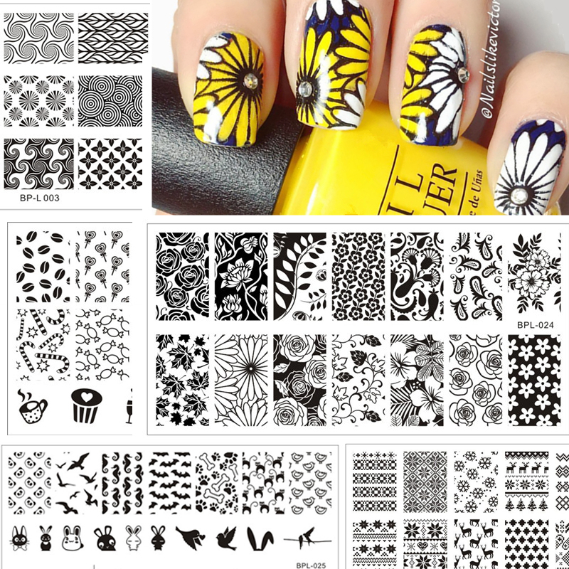 Online Buy Wholesale nail stamp plate from China nail stamp plate ...