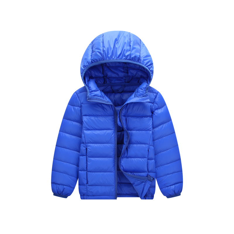 Winter Jacket Boy Kid Light Duck Down Coat Children Hooded Warm Toddler Girl 2018 Spring Outwear Age 5 6 7 8 9 10 11 Year