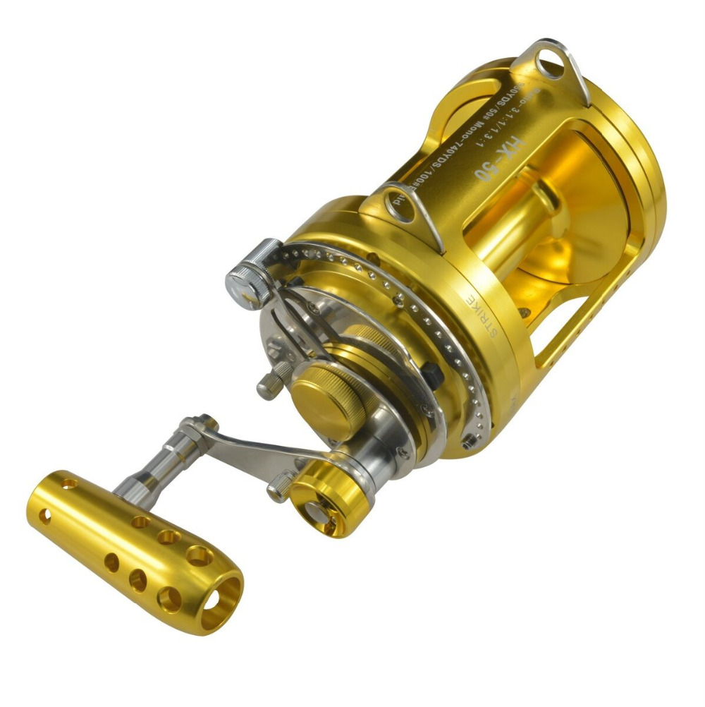 Saltwater Reel Trolling 15W-50W  50-97lbs Tuna Offshore Game Sea Fishing Solid Powerful Extra Smooth Gomexus rigged custom big game marlin tuna hawaiian deep sea trolling lure