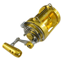 Saltwater Reel Trolling 50W 97lbs Tuna Offshore Game Sea Fishing Solid Powerful Extra Smooth Gomexus