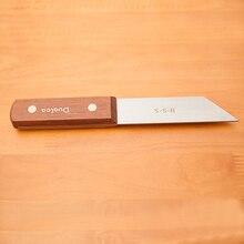 Couteau à découper en acier rapide, petit couteau à bois H033