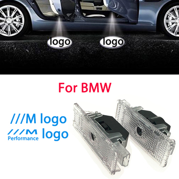 2PCS Led Car Door Light For BMW e39 e52 e53 Accessories X5 Z8 M Performance Logo Light Laser Projector Ghost Shadow Welcome Lamp image