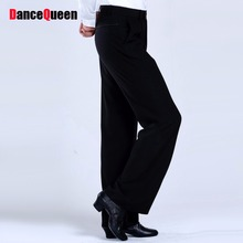 2017 Latin Dance Trousers Pants Men/Boy Practice/Performance Pants For Dance Modern Dance Pants Mens Ballroom Dance Pants DQ6051