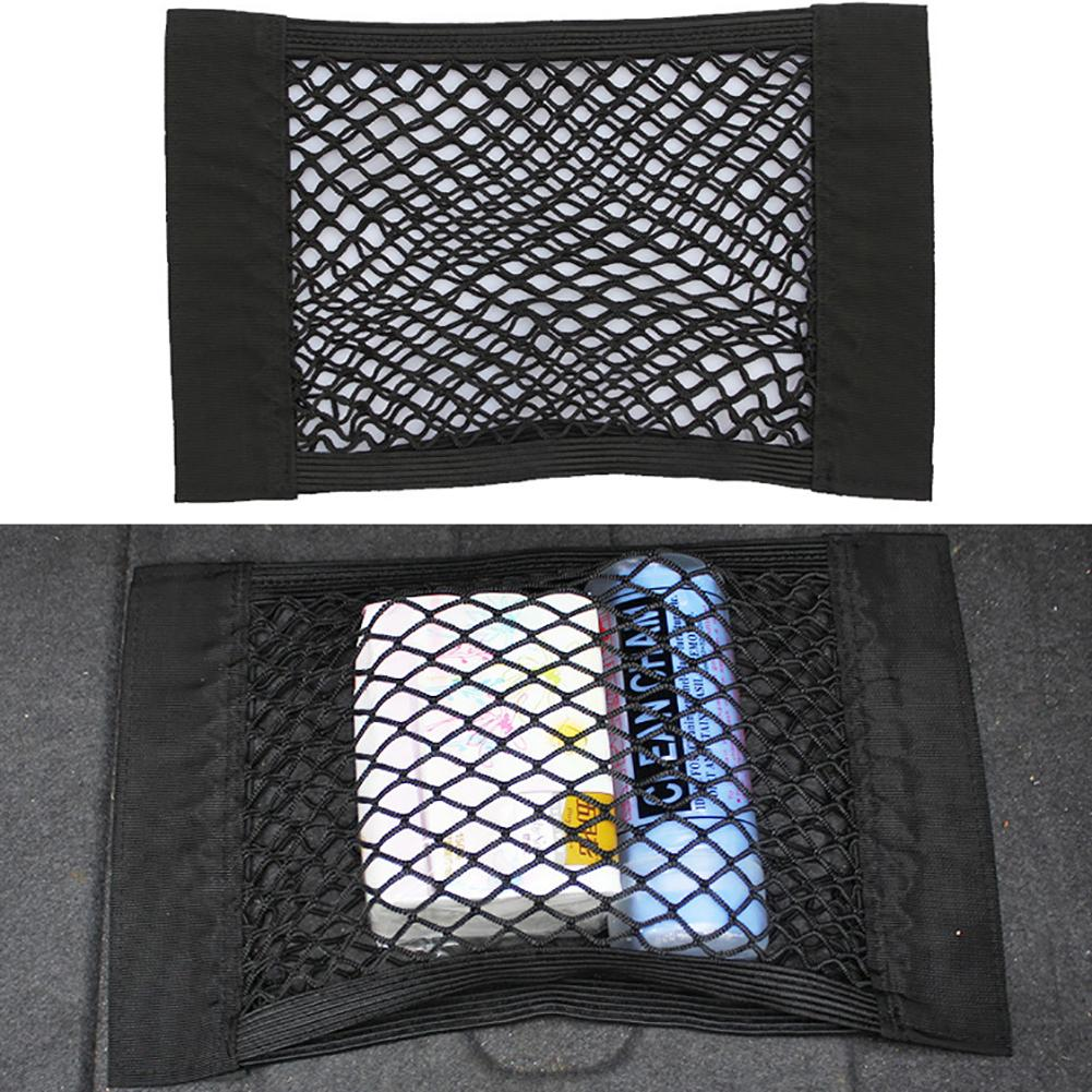 Auto Car Back Rear Trunk Seat Elastic Storage Net Mesh Cargo Organizer Pocket Bag Car Trunk Storage Pocket Cage Auto Accessoires эспандер грудной iron master ir97616