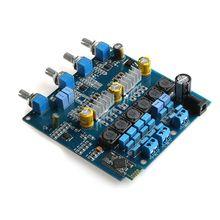 TPA3116 Bluetooth 2.1 Amplificateurs 20Hz à 20 KHz Classe D Amplificateur Numérique Conseil 100 W + 2*50 W Mayitr