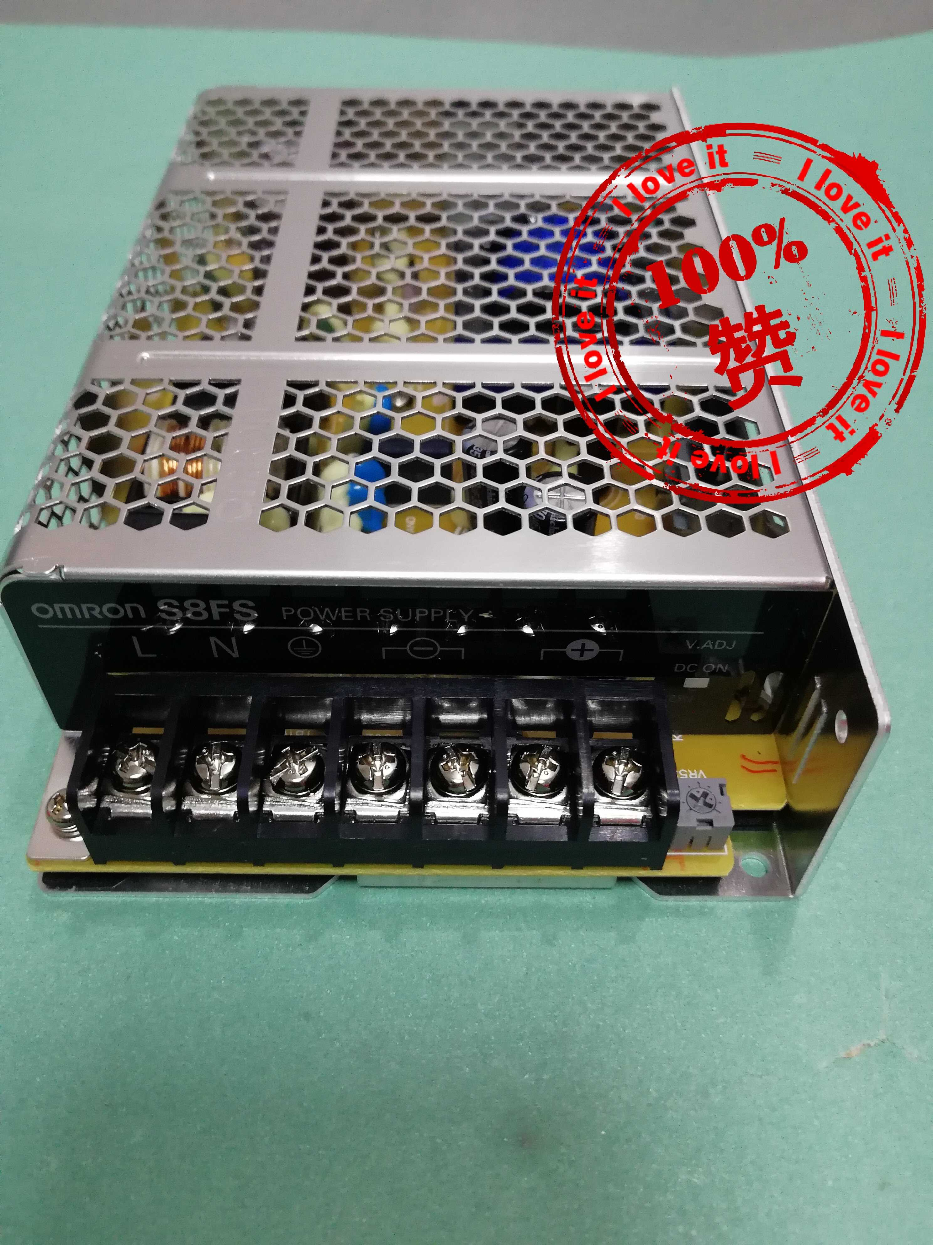 Buy 100% ohmron switching power supply S8FS-C10024 replaces S8JC-Z10024C 100W 4.5A 24V for only 45 USD