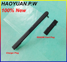 HAOYUAN P.W 2pc Original Case For Sony Xperia M2 S50H D2302 D2303 D2305 USB Charger Slot+Micro SD Card Port Plug Block Cover(China)