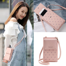 JI HAO Fashion Long wallets women PU leather high-capacity F