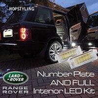 2Pcs 18SMD Super Bright Led Step Courtesy Lights Footwell Door Lamp For Range Rover Sport 2008