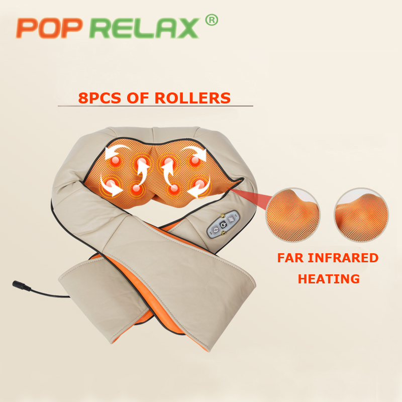 POP RELAX electric shoulder massage belt health care infrared heating therapy waist body pain relief massage&relaxation beltsPOP RELAX electric shoulder massage belt health care infrared heating therapy waist body pain relief massage&relaxation belts
