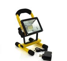 Портативный 24LED 30 Вт Прожектор Водонепроницаемый Прожекторы Перезаряжаемый Прожектор IP65 Открытый Светодиодный Аварийное освещение