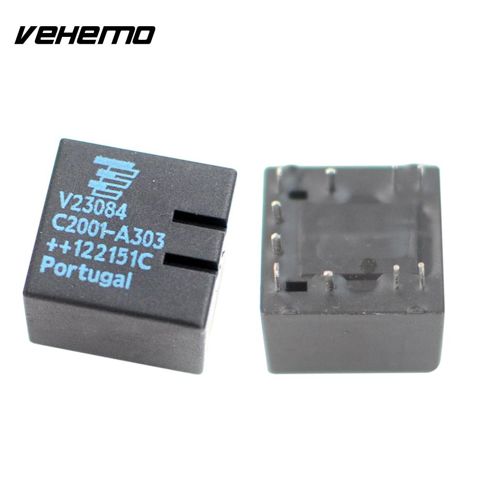 2PCS 10 Contact Car Relay GM5 Durable V23084-C2001-A303 Original Replacement for E46 3-Series Spare Parts