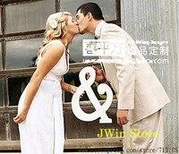 الرسالة و كبيرة الحجم الزفاف منزل الديكور ثلاثي الأبعاد إلكتروني الأبيض الزفاف الدعائم الدعائم الصورة إلكتروني للماء و 30*22.5 سنتيمتر