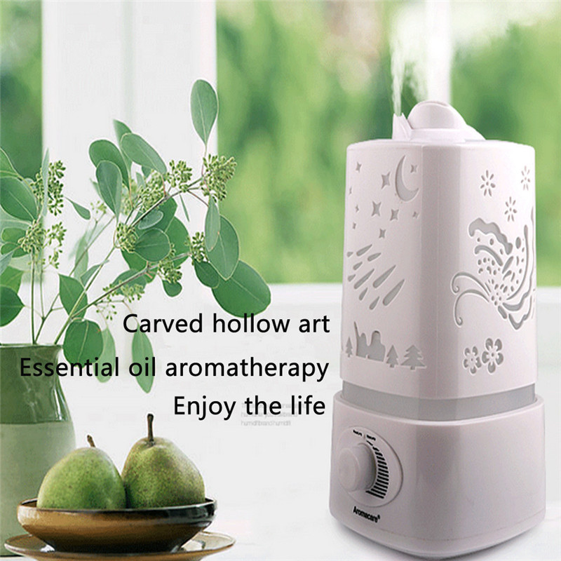 Good Guality 1500ml Ultrasonic Air Humidifier Purifier 7-Color LED Aroma Diffuser Nebulizer Protecting family health p# dropship
