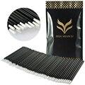 100pc/lot Disposable Lip Brush lip Stick Lip Gloss Rod Super Soft Cosmetic Brush Makeup Brushes Tools Brand HUAMIANLI