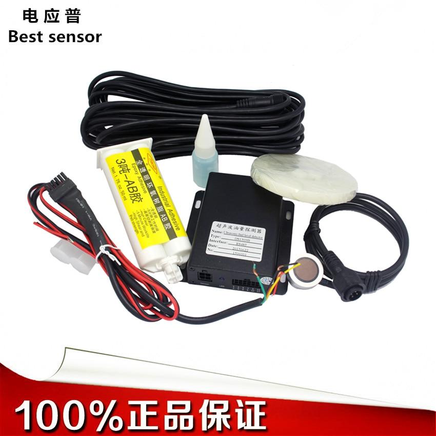 Custom Ultrasonic Fuel Consumption Sensor Large Truck Oil Quantity Remote Monitoring Guard Vehicle Oil Volume Sensor