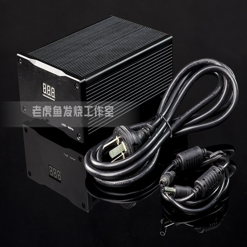 12V 25W new LHY Audio LPS DC ultra low DC linear regulator power supply 100va ultra low noise lps hi end r core linear power supply 100w psu for audio dc5v 24v optional with display