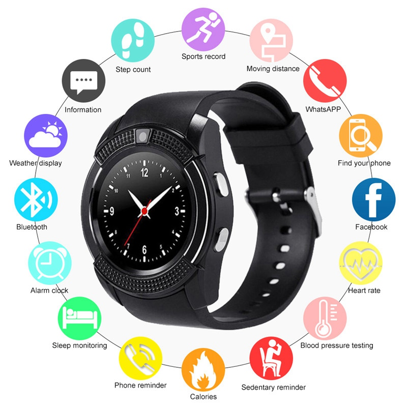 Bluetooth Smartwatch with Touch Screen 4
