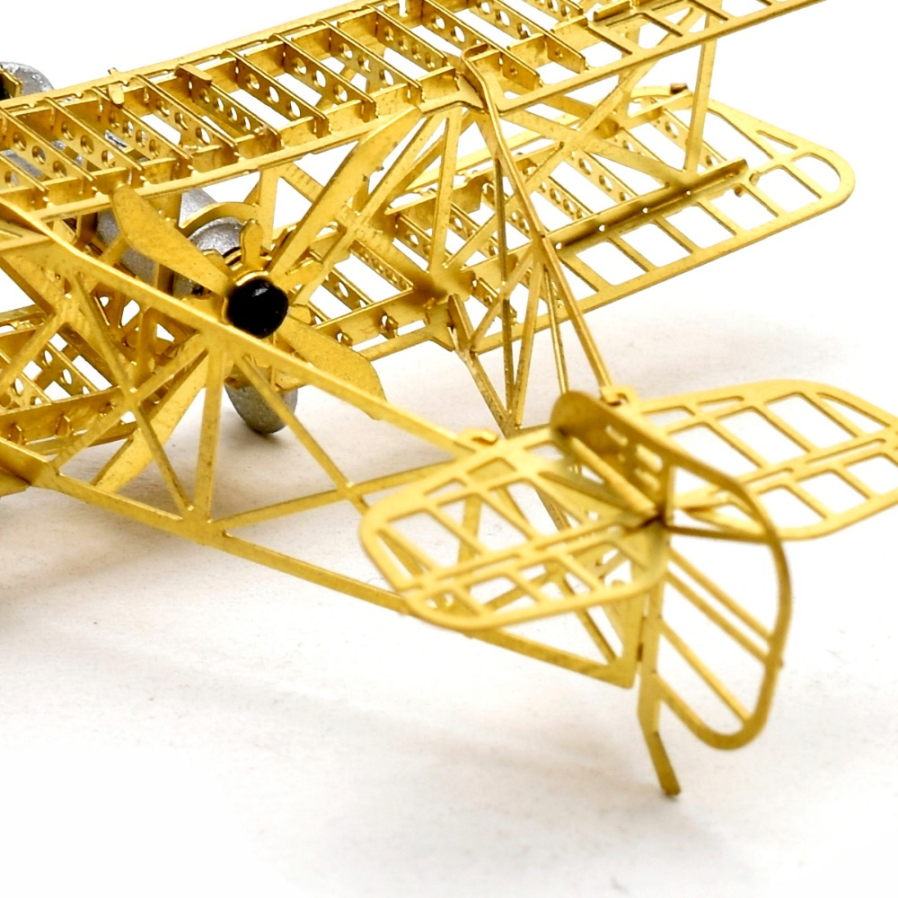 Diy Airco Us 14 87 15 Off 1 160 Airco Dh2 De Havilland Scale Brass Etched Model Kit Airplane 3d Diy Metal Puzzle Miniature Toy Adult Hobby Splicing Fun In