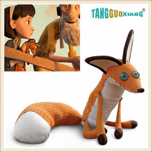 1pcs 60cm  Animation Film The Little Prince Plush Dolls ,The Fox Stuffed Toys For Baby Kids