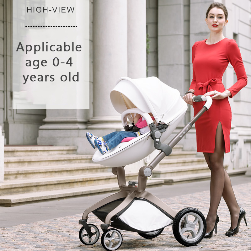 Baby stroller light folding trolley buggiest shock four wheel baby stroller high profile baby trolley ultra light can be lying down two way four wheel shock baby trolley