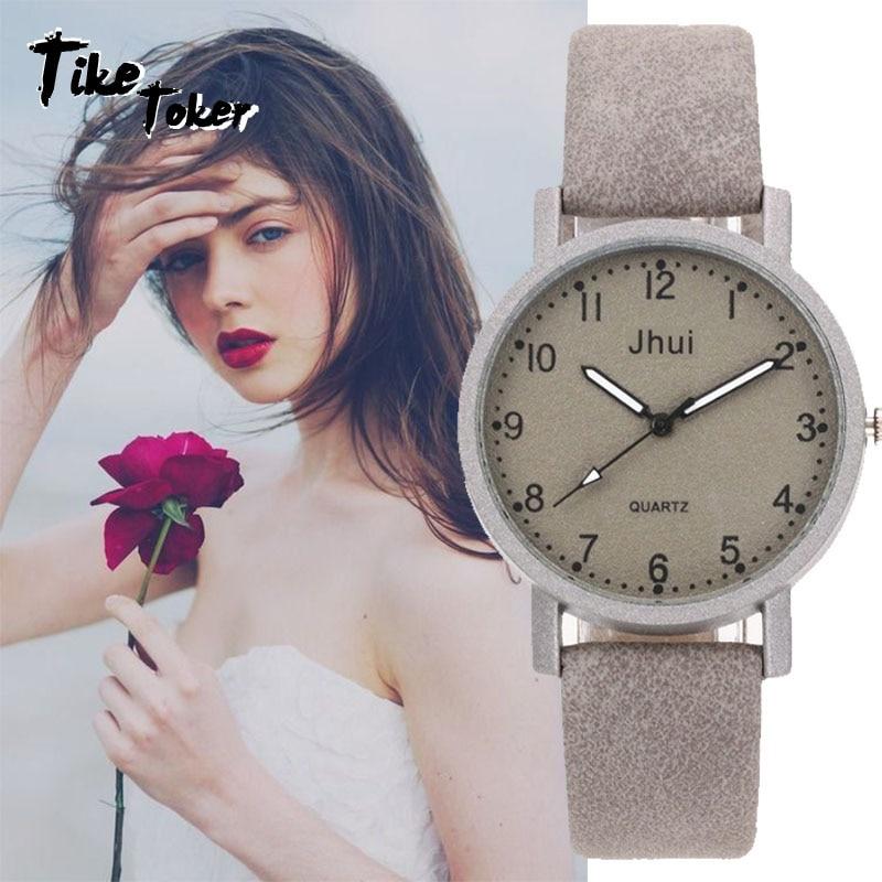 Relojes para Mujer 2018 reloj de pulsera de cuero a la moda para Mujer relojes de Mujer Bayan Kol Saati Montre femenino ¡Nuevo estilo 2018! Reloj de pulsera EUTOUR para hombre con bola magnética, relojes de pulsera Innovate, reloj de cuarzo con correa de nailon a la moda erkek kol saati