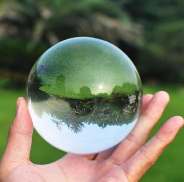 60mm Crystal Ultra Clear Acrylic Ball Manipulation Contact Juggling Fuuny Gadgets Magic Tricks Illusion Juegos De Magia Kids