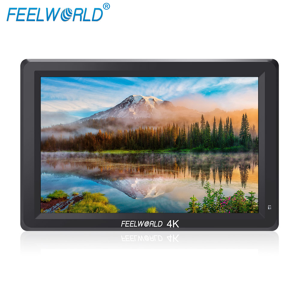 FEELWORLD T756 7 Inch 4K HDMI Monitor 1920x1200 IPS IPS 4K Camera Field Monitor with Peaking Focus False Colors Zebra Exposure