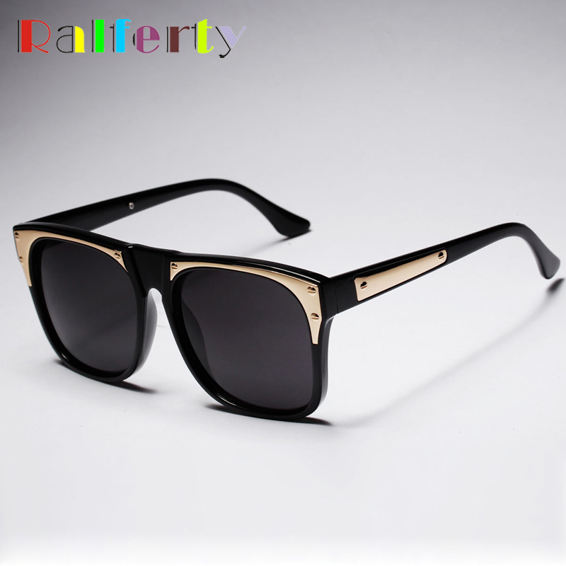 Oversize Square Frame Sunglasses Women Mens Black BOX Sun Glasses Mirrored Sunglass Trend In Summer Goggles gafas de sol 1696