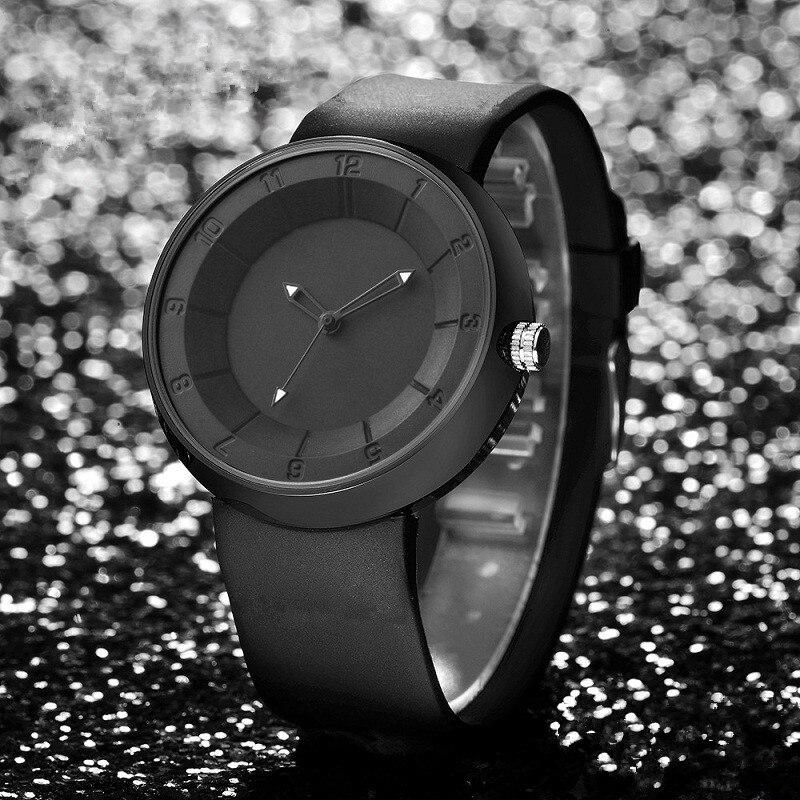 2017 Unisex men's gift neutral coil hands design wristwatch creative dial breathe freely strap simple fashion quartz watches 2017 gift enmex special design wristwatch creative dial changing patterns simple fashion for young peoples quartz watches