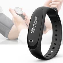 Smart Браслет 0.86 inch OLED Сенсорный экран Bluetooth 4.0 IP67 Водонепроницаемый смарт-Браслеты Anti потерянный сердечного ритма Мониторы