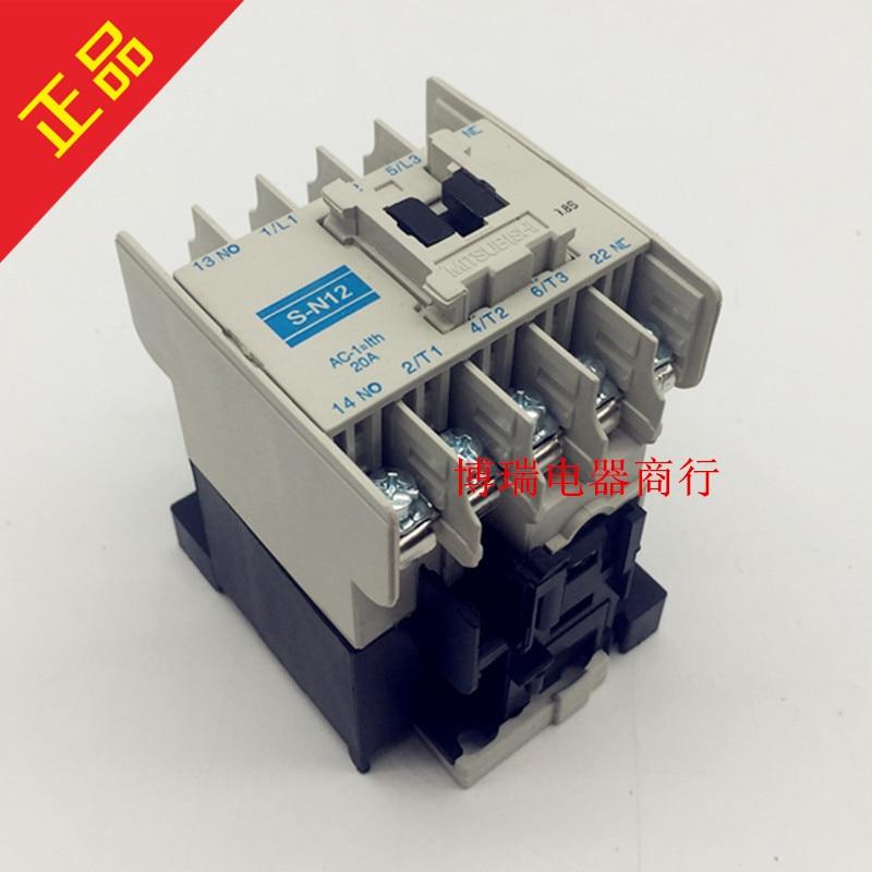 цена на Original authentic contactor S-N12 SN12 380V 220V 110V