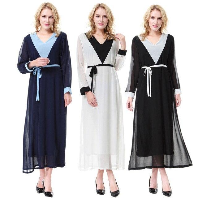 Neue Moslemisches Abaya Islamische Kleidung Pailletten Dekoration ...