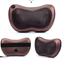 2016 New Heating Car Double Massage Device Neck Relaxation Pillow Massage Car Massager Cushion Car Seat