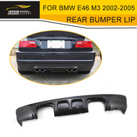Car Style Carbon Fiber Diffuser Car Rear Bumper Lip For BMW E46 M3 2002 2005