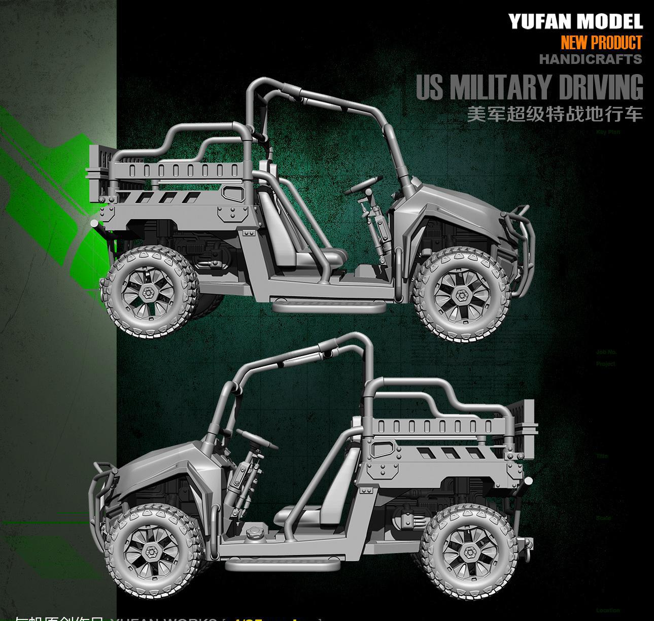 Yufan Model 1/35 Resin Model Oorspronkelijk YFWW35 1854 Van U. s. Leger Terreinwagen-in Modelbouwen Kits van Speelgoed & Hobbies op  Groep 3