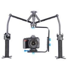S1 Foldable Handheld DSLR Camera Spider Stabilizer With Quick Release Plate For Camcorder DV Video Camera DSLR SLR