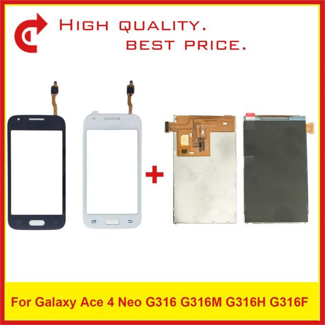 """4.0"""" For Samsung Galaxy Ace 4 Neo G316 LCD G316M G316H G316F LCD Display With Touch Screen Digitizer Sensor Panel Replacement"""
