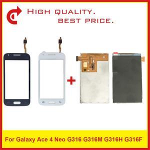 Image 1 - ЖК дисплей 4,0 дюйма для Samsung Galaxy Ace 4 Neo G316, G316M, G316H, G316F, ЖК дисплей с сенсорным экраном, дигитайзером, сенсорной панелью, замена панели