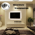 3528 5050 USB Led Strip RGB 50CM 100CM 200CM Waterproof light warm white with usb Cable 60led/M for TV Background Computer R