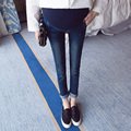 2016 зимние джинсы для беременных брюки для беременных беременность одежда джинсовые брюки ropa пункт embarazadas материнской лактации