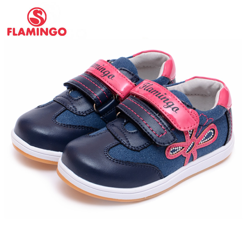 FLAMINGO 100% Russian Famous Brand 2016 New Arrival Spring & Autumn Kids Shoes Fashion High Quality Children shoes 61-CP113