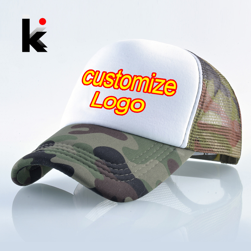 Details about Quick Custom Logo Fashion Print Baseball Cap Men Women Summer  Mesh Hat Couple 393a28b53