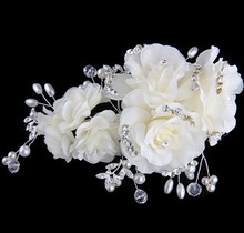 Hair Accessory Clip Comb Headband Stick Barrettes Accessories Crystal Gem Lace Flower Bridal Hair Jewelry Wedding Style