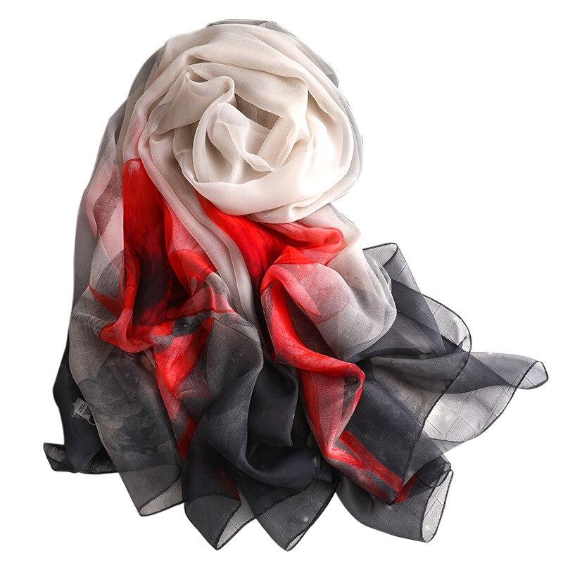 2019 winter women scarf fashion print silk scarves shawls and wraps lady pashmina foulard femme designer bandana hijabs