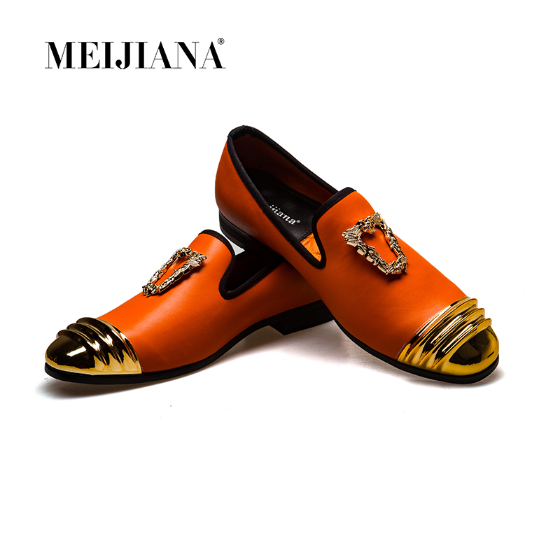 MeiJiaNa Designers Men Loafers Shoes 2019 Top Quality Leather Mens Casual Shoes Slip On Comfortable Male
