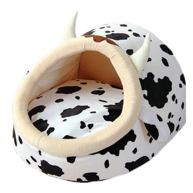 Aliexpress Com Buy Pet Dog Bed Milk Cow Design Dog House