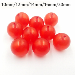 Новейший! Прозрачные блестящие шарики красного цвета 12 мм/20 мм