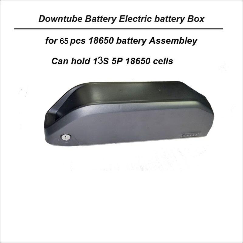 Hoge kwaliteit ABS plastic down buis batterij opbergdoos voor 13 S 5 P 18650 mobiele case met 65 pcs behuizing vermogen van e bike-in Batterij Opruimdozen van Consumentenelektronica op  Groep 1