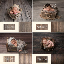 Newborn Backdrop for Photography Baby Shower Birthday Party Wood Floor Photo Background for Children Studio(China)